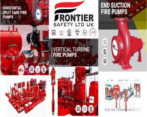 مضخات حريق معتمدة UL/FM ماركة Frontier  صناعة بريطانية